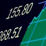 120-årige Dow Jones overskred 20.000 for første gang, januar 25, 2017. REUTERS/Brendan McDermid
