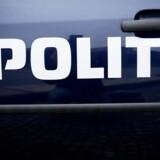 En betjent fik en sok med en billardkugle i hovedet, da han ville anholde en formodet indbrudstyv. (Genrefoto) Free/Pressefoto Rigspolitiet