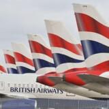 Arkivfoto. IAG, der ejer British Airways og Iberia, og Air France-KLM Group har begge øget deres indtjening med omkring 50 pct. i andet kvartal.