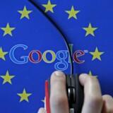 Google blev i 2014 pålagt at fjerne sider fra sine søgeresultater, hvis de rummer irrelevante eller forældede oplysninger om europæere. Arkivfoto: Dado Ruvic, Reuters/Scanpix