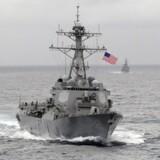 Den missilbevæbnede destroyer USS Lassens sejltur ved den kunstige ø Subi er et led i den hidtil mest tydelige amerikanske afvisning af Kinas maritime krav i Det Sydkinesiske Hav.