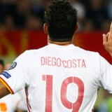 Chelsea-angriberen Diego Costa føler sig behandlet som en kriminel af London-klubben. Reuters/Ognen Teofilovski