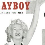 Ikoniske Playboy-forsider: December 1953 med Marilyn Monroe. Grundlæggeren af mandebladet Playboy, amerikaneren Hugh Hefner, er død. Han blev 91 år gammel. Bladet kom på gaden for første gang i december 1953.