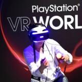Sonys kommende Playstation VR-briller kræver mere af spillekonsollen, så den japanske elektronikgigant arbejder på en opdateret udgave af Playstation 4. Arkivfoto: Noah Berger, Reuters/Scanpix