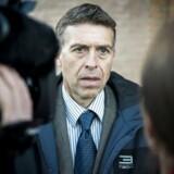 ATEA-sagen for retten i Glostrup SØIKs anklager Jørn Thostrup ankommer