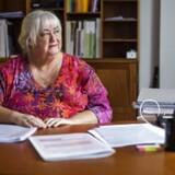 Ældreminister Thyra Frank fotograferet i ministeriet mandag den 19. december 2016.