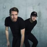 Den danske duo Phlake består af Jonathan Elkær (til venstre) og Mads Bo Iversen (til højre).