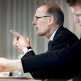 Cees't Hart, koncernchef i Carlsberg offentliggør koncernens årsregnskab på et pressemøde i København onsdag d. 10 februar 2016. Carlsberg fremlægger årsregnskab ved direktør Cees't Hart