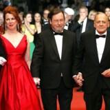 Flot så det ud, da Lars von Trier gik op ad den røde løber i Cannes. Meningerne om hans film er imidlertid ganske delte.