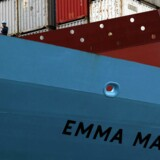 Emma Mærsk. REUTERS/Bobby Yip