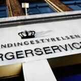 Udlændingestyrelsen i Ryesgade i København.