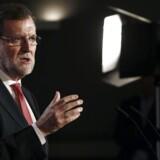Spaniens premierminister, Mariano Rajoy.