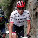 Alberto Contador i angreb under årets Tour de France. Den spanske cykelrytter indstiller karrieren efter Vuelta Espana.