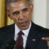 Obama kan få svært ved at få godkendt aftalen på hjemmebanen i den amerikanske kongres. (REUTERS/Jonathan Ernst)
