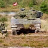 Jydske Dragonregiment i Holstebro afholdt onsdag en stor øvelse, hvor de viste en stor del af alt deres materiel frem.