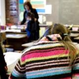 Siden år 2006 har folkeskolerne oplevet et fald i antallet af lærere på 13 procent. (Foto: Steffen Ortmann/Scanpix).