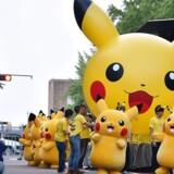 Pikachu - her i en japansk gadeparade - får nu sin egen film.
