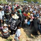 »Vi risikerer, at modsætningerne mellem flygtninge og migranter på den ene side og lokalbefolkningerne på den anden går helt skævt og eskalerer.«