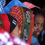 Flygtninge fra Eritrea fravælger i endnu højere grad Danmark end flygtninge fra andre lande. Myndigheder og organisationer er uforstående. Her er det eritreiske flygtninge, som venter på at blive registreret ved grænsen til Ethiopien.