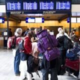 Særligt fredag den 13. maj lokkede flypassagererne til og fra Kastrup