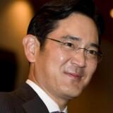 Jay Y. Lee, eneste søn af Samsung Electronics bestyrelsesformand Lee Kun-hee og barnebarn af elektronikgigantens stifter, er nu rykket op i systemet og klar til at overtage efter faderen. Arkivfoto: Cho Seong-joon, Reuters/Scanpix