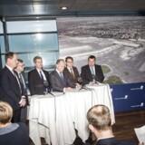 Pressemøde i Københavns Lufthavne, hvor man vil løfte sløret for udvigelsesplanerne.. (Foto: Asger Ladefoged/Scanpix 2016)