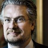 Nyvalgte medlemmer af Folketinget. Her Henrik Dahl (Liberal Alliance).