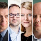 Alex Ahrendtsen (DF), Jan E. Jørgensen (V), Jeppe Bruus (S), Ane Halsboe-Jørgensen (S), Jacob Engel-Schmidt (V) og Pernille Rosenkrantz-Theil (S).
