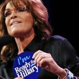 Sarah Palin vil ikke afvise, at hun stiller op som præsidentkandidat.