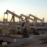 Olieprisen fortsætter fredag morgen faldet fra torsdag. Faldet skyldes en øget amerikansk olieproduktion og forventninger om en højere produktion fra Opec-landene.