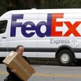 FedEx bil. 27. Oktober 2015. REUTERS/Jim Young