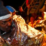 ARKIVFOTO 2012 af flygtning fra Eritrea.