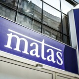 Matas øgede salget med 1,3 pct. i det tredje kvartal af 2016/17, når der måles på omsætningen i butikker, der har været åbne i mindst et år. (Arkivfoto: Jeppe Bjørn Vejlø/Scanpix 2013)