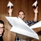 Danske iværksættere står bag engelske Airhelp, der hjælper flypassagerer med at søge retmæssig erstatning for forsinkelser og aflysninger. Her de to hovedstiftere af Airhelp, Nicolas Michaelsen tv. og Henrik Zillmer.