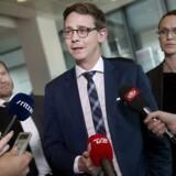 Skatteminister Karsten Lauritzen (V).