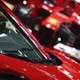 Ferrari bliver sluppet løs på børsen i New York senere onsdag.