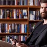 Nu er Morten Strunges nye e-bogstjeneste gået i luften. Pressefoto.