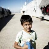 Flygtningelejr i Tyrkiet, Kilis. Der bor for tiden knap 11.000 flygtninge i de i alt 2053 containere. Men lejen har kapacitet til omkring det dobbelte antal, og de ledige container-boliger står parat, hvis der pludselig skulle komme en stor tilstrømning af syriske flygtninge.