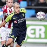 Teemu Pukki skifter fra Brøndby til Norwich på en treårig kontrakt. Henning Bagger/Ritzau Scanpix