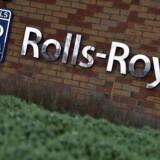 Arkivfoto. Britiske Rolls-Royce indtager bunden blandt de europæiske eliteaktier, efter at selskabet er kommet ud af 2016 med et kæmpe underskud som følge af store nedskrivninger.