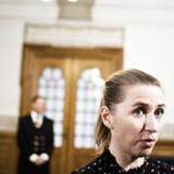 Mette Frederiksen (S) efter spørgetime i Fællessalen på Christiansborg. Fotograferet tirsdag den 19. januar 2016.
