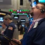 Aktier: Tæt på rekordhøjde efter pæne stigninger over ugen / AFP PHOTO / Bryan R. Smith