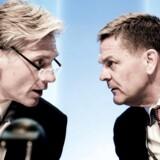 Danske Banks topchef Thomas F. Borgen og hans bestyrelsesformand Ole Andersen