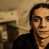 ARKIVFOTO 2013 af digter Yahya Hassan.