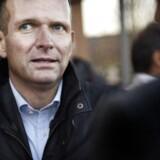 Forsvarsadvokat Michael Juul Eriksen efter domsafsigelsen i Retten i Glostrup 24. november 2016.