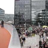 Arkivfoto: Cykelbroen, der forbinder Vesterbro med Islands Brygge, åbnede i sommeren 2014, og er ifølge det amerikanske designmagasin Metropolis en af Københavns perler.