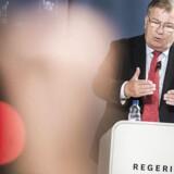 Finansminister Claus Hjort Frederiksen.