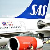 Arkivfoto. En god sommer med pæn passagervækst har været medvirkende til, at SAS er godt på vej til at overgå sidste års overskud.