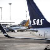 Arkivfoto: SAS fløj i maj med 2,6 mio. passagerer, hvilket var rekord for den måned og 3,3 pct. højere end i samme periode sidste år.