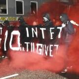 Ungdomshuset i København afholder onsdag den 1. marts 2017 en demonstration, der bevæger sig fra Vor Frue Plads mod Nørrebro i anledning af 10-året for rydningen af Ungdomshuset på Jagtvej 69. Den 1. marts 2007 kl. ca. 7.00 påbegyndte Københavns Politi en rydning af Ungdomshuset.De følgende dage var præget af uroligheder og ødelæggelser, hvor over 714 personer blev anholdt. Den 5. marts ved 8-tiden om morgenen begyndte nedrivningen af huset, der varede indtil den 6. marts ved 23-tiden. I dag står grunden Jagtvej 69 tom, men der er planer om at bygge et nat-herberg for hjemløse på stedet. ccc